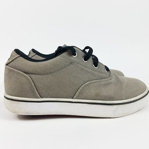 Heelys Launch Boys Youth Size 5 Grey Black shoes